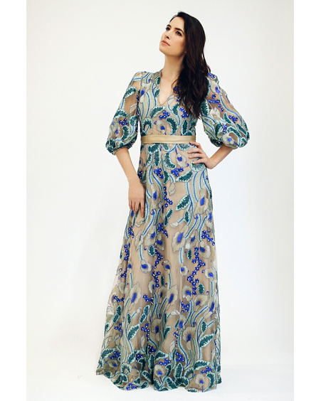 FLORAL BEAUTY MAXI