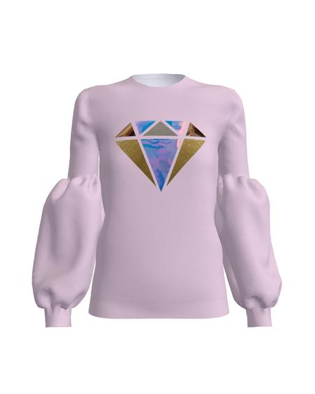 DIAMOND ALICE SWEATSHIRT LILAC