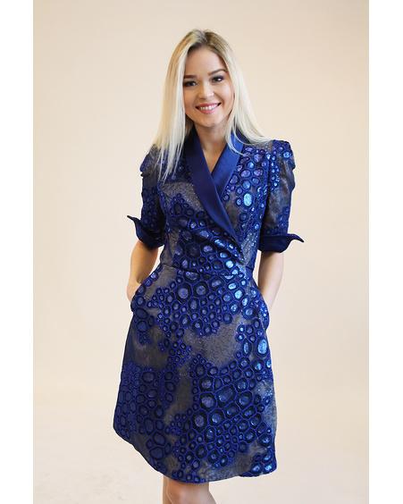 BLUE MOON LACE DRESS
