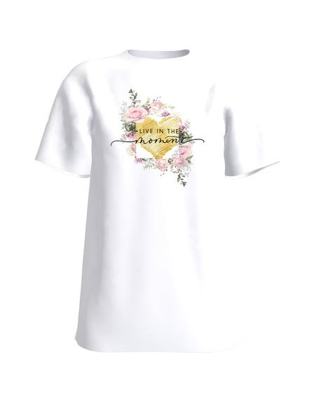 FLOWER T-Shirt H UNISEX white