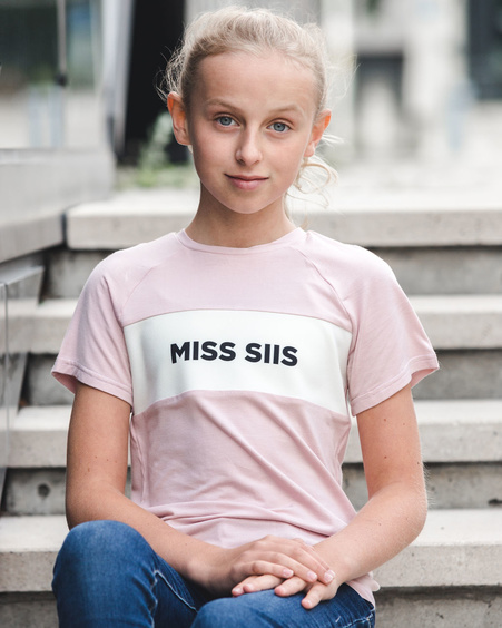 MISS SIIS KIDS T-SHIRT BLUSH