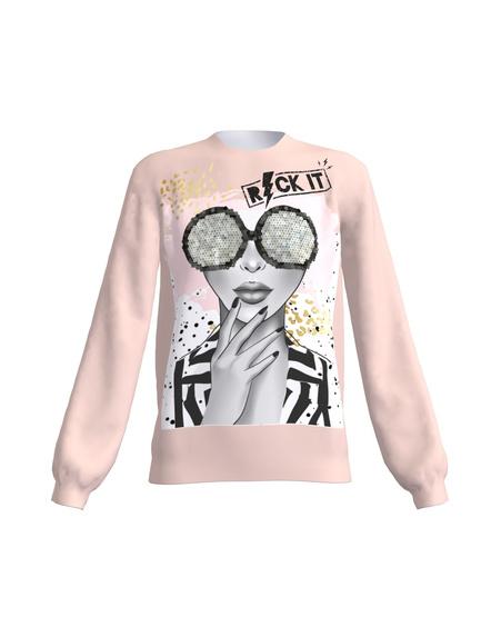 ROCK IT Women's Regular Sweatshirt